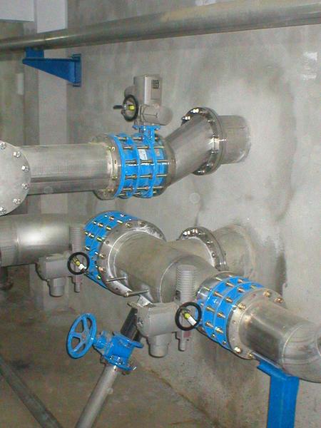 Sautech - aplicatii AUMA in domeniul apelor