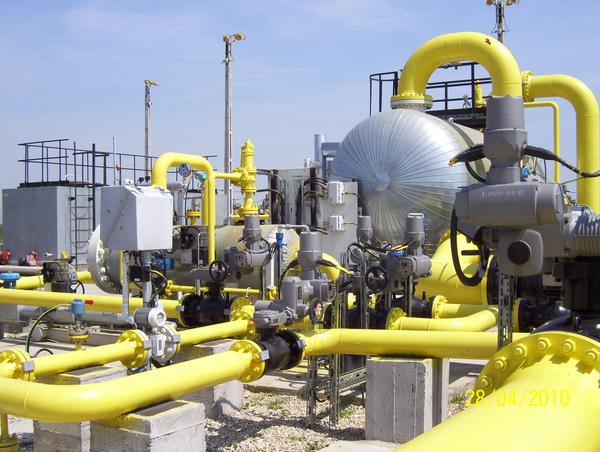 Servicii si aplicatii AUMA in domeniul gazelor